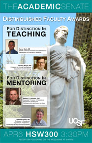 2010-2011 Distinguished Faculty Awards Poster