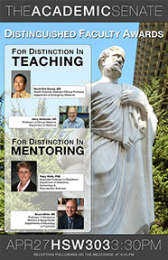2011-2012 Distinguished Faculty Awards Poster