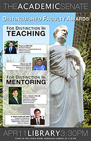 2012-2013 Distinguished Faculty Awards Poster