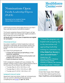 FLEX Leadership EXpress Program Flyer