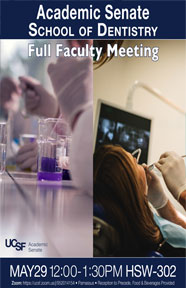 School of Dentistry Full Faculty Meeting 2019 Poster