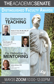 2020-2021 Distinguished Faculty Awards Poster