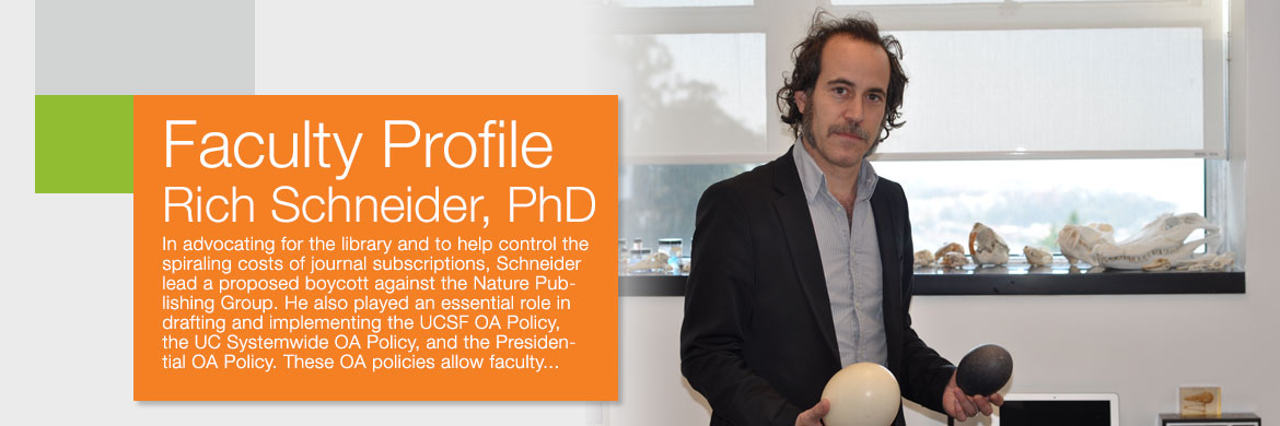Faculty Profile Rich Schneider, PhD January 2017