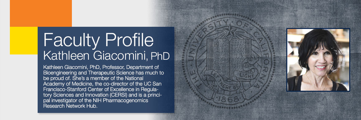 Faculty Profile Kathleen Giacomini, PhD